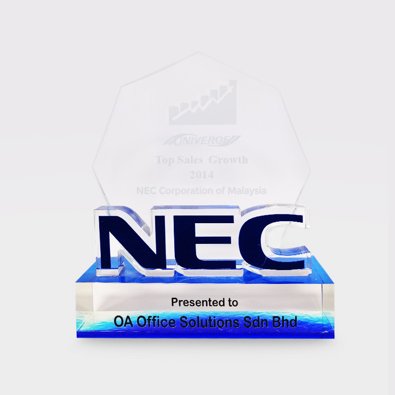 NEC Top Sales Growth (2014)