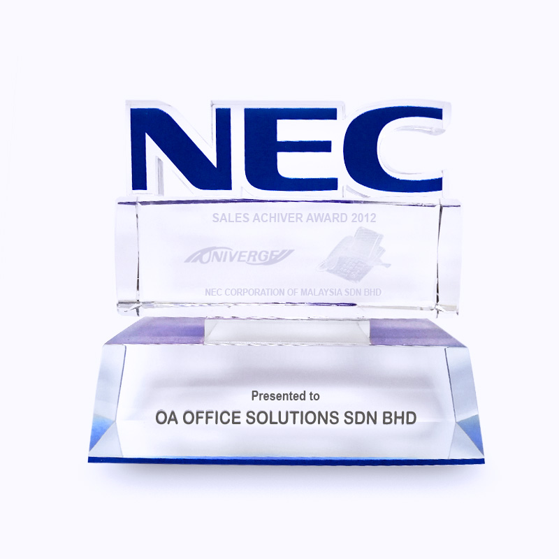 NEC Sales Achievement Award (2012)