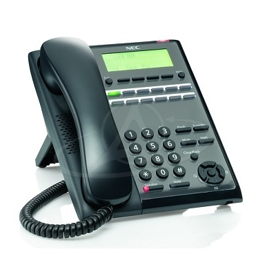 NEC IP7WW-12TXH-A1 TEL (BK) 12 Keys, LCD Digital Telephone