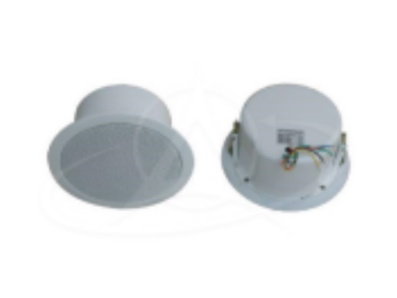 "Emix EMCS-662 6.5"" 6w Metal Ceiling Speaker C/W Enclosure"