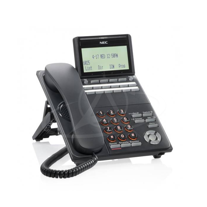 NEC DT530 DTK-12D-1P (BK) TEL Digital 12 Button Display Telephone