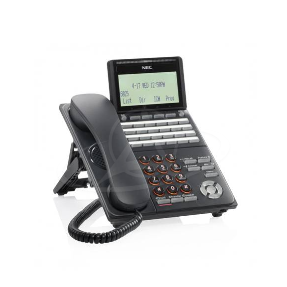 NEC DT530 DTK-24D-1P (BK) TEL Digital 24 Button Display Telephone